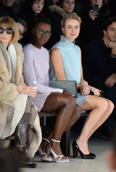 Lupita Nyong'o and Naomi Watts