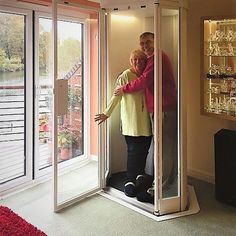 Lifestyle Home Lift takes up no more space than an arm chair. Wide range of colours and finishes, Quick & easy installation. Arrange a FREE survey today!