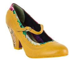 Poetic Licence Betty Jane Heels - FINAL SALE betty jane heels yellow