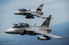 Saab JAS 39 Gripen Fighter Aircraft, Fighter Jets, Saab Jas 39 Gripen, Motorcycle Types, Air Planes, Military Aircraft, Armed Forces, Air Force, Pilot