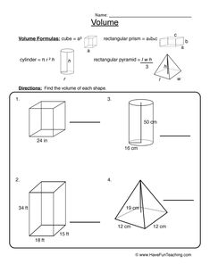 Volume Of Composite Shapes Worksheet volume of composite