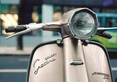 There may be better ways of getting around your city, but there aren't any cooler! Via Magic Mac Lambretta Scooter, Vespa Scooters, Sidecar, 35mm Film, Photography Photos, Chopper, My Images, Mac, Princess