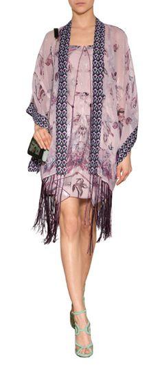 Die Zutaten für den Boho-Chic? Verträumte Muster, elegante Drapes und lässige Fransen. Von Anna Sui #Stylebop