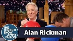 Severus Snape Inhales Helium and Talk About Harry. - Severus Snape Inhales Helium and Talk About Harry Potter [The Tonight Show Starring Jimmy Fallon]Alan Rickman has some fun with helium balloons while confronting Jimmy about the Alan Rickman-Off he. Alan Rickman, Harry Potter Actors, Jimmy Fallon, Mischief Managed, The Funny, I Laughed, Laughter, The Best, Interview