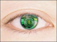 Olho de Sportinguista Best Club, Grande, Eye, Amor, Pereira, Lisbon, Soccer