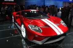 Red 2017 Ford Gt