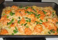 Buffalo chicken casserole! Gonna make this soon!
