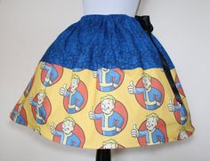 #FandomFriday: 20 Best #Fallout Merchandise to Whet Your Appetite for #Fallout4 - Vault Boy Skirt