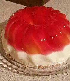 Greek Desserts, Greek Recipes, Jello Recipes, Dessert Recipes, Watermelon, Food And Drink, Pudding, Fruit, Cake