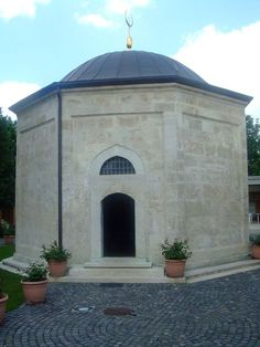The tomb of Gül Baba in Budapest.