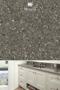 Luminous shades of gray reach new heights in our sophisticated Minera design, creating a countertop that's as beautiful as it is durable. Cambria Quartz Countertops, Tile Countertops, Bath Remodel, Kitchen Remodel, Walton House, Spa Inspired Bathroom, Design Palette, Dream Bath, Building A New Home