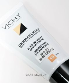 Vichy Dermablend foundation, to use as concealer on face, apparently better than the same brand's concealer