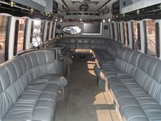 Limousine Bus. Could fit entire wedding party in it. Transport from hotel to church/chapel then back to hotel.