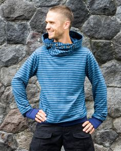 Something for the guys ;) Dao Jumper @ Fraggletribe.com Jumper, Men Sweater, Streetwear, Vest, Guys, Sweaters, Jackets, Clothes, Fashion
