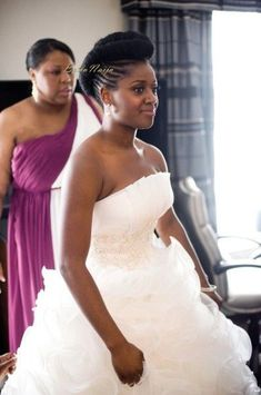 30 Beautiful Wedding Hairstyles For African American Brides natural hair updo for wedding Natural Hair Wedding, Natural Hair Updo, Natural Hair Styles, Short Hair Styles, Natural Hair Brides, Natural Dreads, Natural Wedding Hairstyles, Bride Hairstyles, Black Women Hairstyles