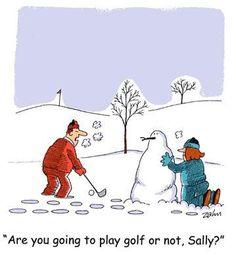 snow humor pics   Golf Humor.Golf Jokes,Golf Cartoons,Golf Quotes.Zahn Cartoon #14