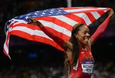 Sanya Richards-Ross wins Gold in 400 meters