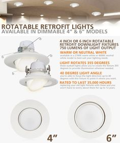 Light up your home with our LED Lights! #retrofit #lights #led