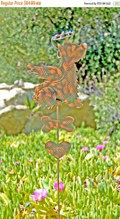 Angel Cat / Pet Memorial / Copper Garden Art / Garden Stake / Pet Grave  Marker / Plant Stake / Metal Yard Art / Garden Art Decor/ Outdoor |  Pinterest