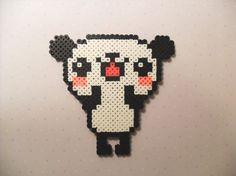 Perler Bead Kawaii Panda. $3.99, via Etsy.