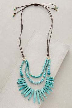 Anthropologie Lucero Necklace #anthrofave