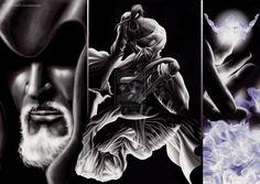 10 dimensions: Vibration beyond the duality .. by JordanNennaArt.deviantart.com on @deviantART
