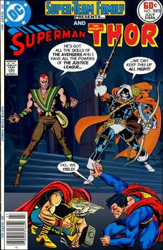 Super-Team Family: The Lost Issues!: Superman and Thor (Vs. Amazo and Taskmaster)