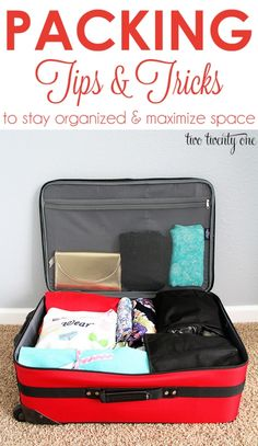 Packing Tips and Tricks to Stay Organized and Maximize Space __________________________ tribr is a free mobile app that makes your event planning easier and better. Check it out!