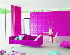 Pink packing a powerful punch -  Paint Colors: Perfect Pink Room Design : Decorating : Home & Garden Television