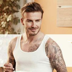 David Beckham Shirtless, David Beckham Tattoos, David Beckham Style, Cabelo David Beckham, Attractive Eyes, Hottest Male Celebrities, Celebs, Star Wars, Pinterest Photos