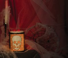 Bones Silhouette #Scentsy Warmer! 2013 Harvest Collection :)  *Available while supplies last!