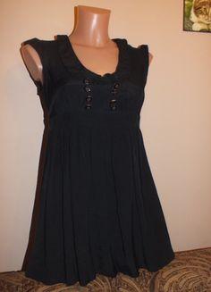 Kup mój przedmiot na #vintedpl http://www.vinted.pl/damska-odziez/tuniki/12052624-czarna-tunika-z-guzikami-miss-selfridge-m-10-38