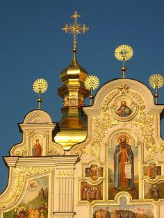 UNESCO World Heritage Site - Kyiv-Pecherska Lavra, Ukraine.