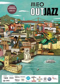 Cartaz Meo Out Jazz 2015