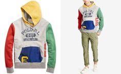 Polo Ralph Lauren Men s Patchwork Hoodie - Hoodies   Sweatshirts - Men -  Macy s d1e15a33bb6d