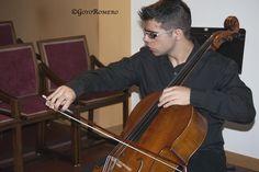 Alex playing cello