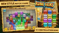 Rune Gems on App Store:   Rune Gems is an excellent well-presented game friendly to both long and short play sessions. Five Star from -insidemobileapps.com The whole game is well executed and we really love to tap on one of the runes for the animation is so smooth. Five Star from ...  Developer: Li Xueke  Download via AppZapp http://ift.tt/1jU6uxG