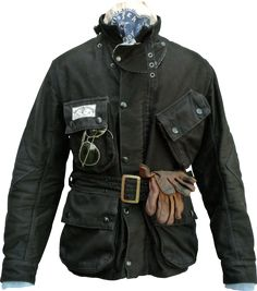 Nice bike jacket.