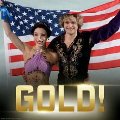YESSSS!!!!!!!!!!!!!!!!!!!!!!!!!!!!!!!!!!!!! Meryl Davis and Charlie White win first Olympic ice dancing gold for USA