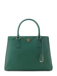 Saffiano Leather Lux Small Tote from Prada Handbags on Gilt