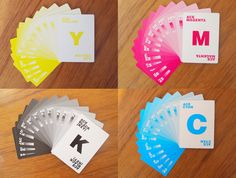 You Might Want to Save Up for these CMYK Playing Cards