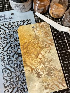 Who else has been watching Tim Demonstrate techniques every Saturday? After each one I am so excited to run up to my room and … Distress Ink Techniques, Embossing Techniques, Paint Techniques, Art Journal Tutorial, Distress Oxide Ink, Handmade Tags, Card Making Techniques, Card Tutorials, Nest Design