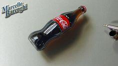3D Art, Drawing Coca-Cola bottle. hei, add me on tsu http://www.tsu.co/marcellobarenghi :)