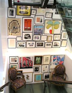 Paul Smith's Westbourne House Flagship Store -- Art Wall