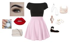 """""""Untitled #42"""" by nathalye-1 on Polyvore featuring Tabitha Simmons, Michael Kors, Helmut Lang, Olivia Burton, Alexis Bittar and Lime Crime"""