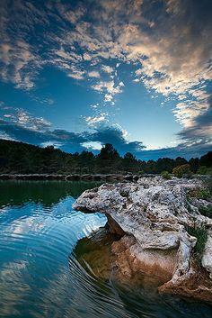 Las lagunas de Ruidera, Ciudad Real, Spain