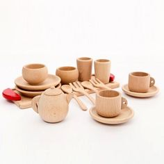 """$69.95 - NOW $49.95 Wooden Montessori kitchen Set Toy FREE SHIPPING These custom designed """"Wooden Montessori kitchen Set Toy"""" are a MUST HAVE! Designed with premium high quality material! These wood t"""