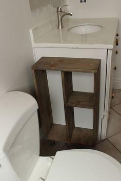 Storage closer for toilet