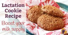 A lactation cookie recipe to increase breast milk supply made with all natural and healthy ingredients. If you're struggling with supply, this is for you.