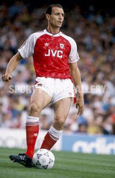 Steve Bould. Arsenal FC Photo: Mark Leech / Offside (Great Legs!)